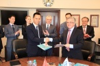FBA EAC singed MOU with POWERCHINA